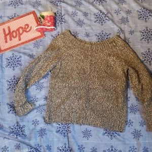 Old Navy brown sweater